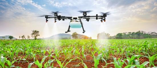 L'épandage de pesticides par drone: à quelles conditions?